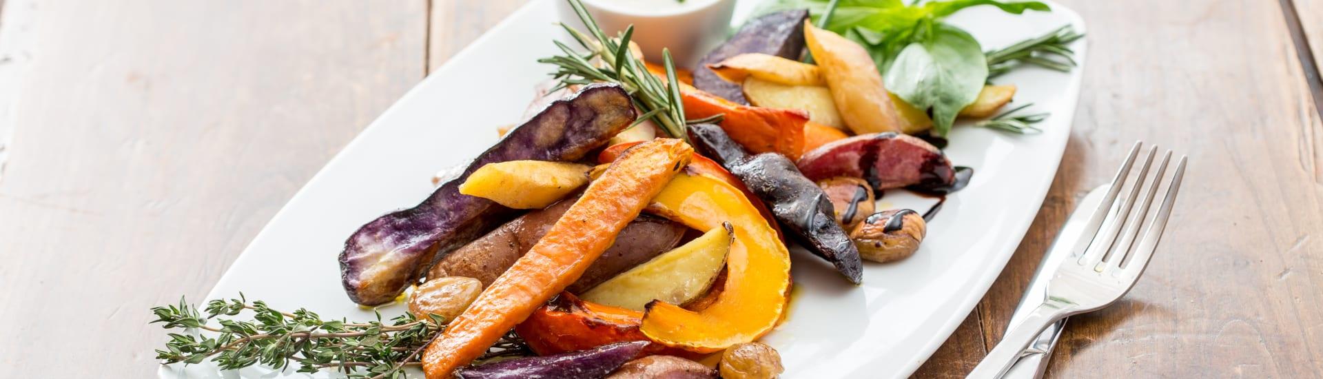 Unsere veganen Speisen: das Arche-Gericht
